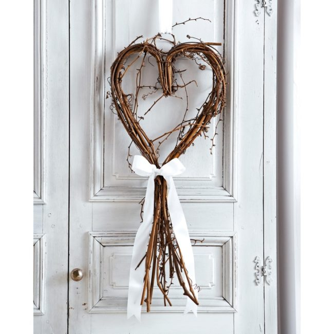Heart Twig Wreath