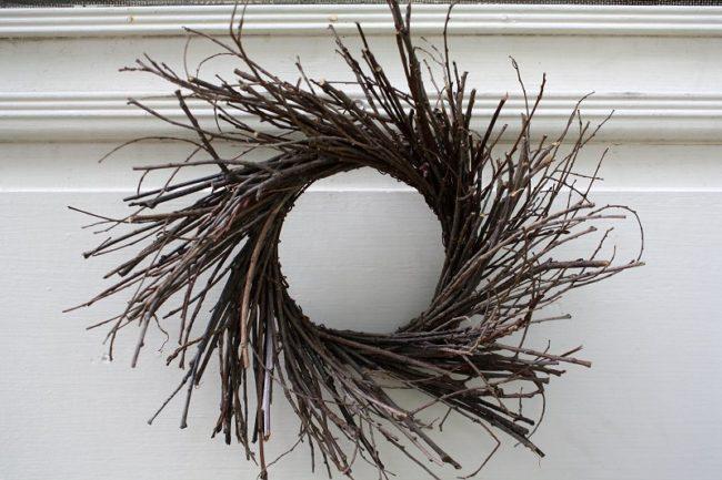 Plain Twig Wreath