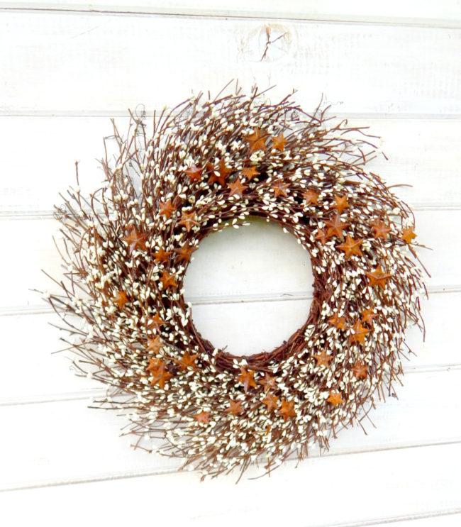 Rustic Twig Wreath