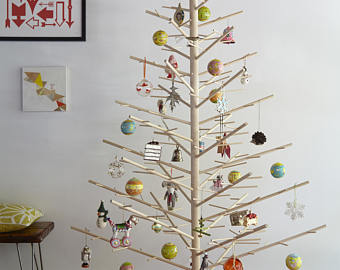 6ft Wooden Christmas Tree