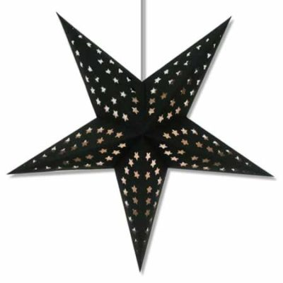 Black Paper Star Lanterns