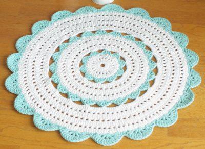 Crochet Doily Floor Rug Pattern