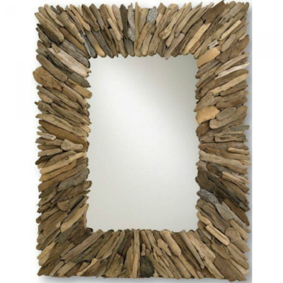Driftwood Coastal Mirror