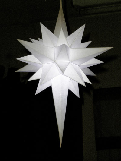 German Paper Star Lantern