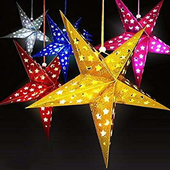 Hanging paper Star Lanterns