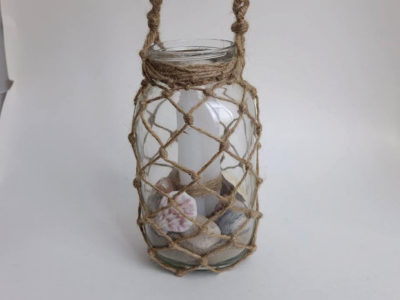 Macrame Mason Jar Lanterns