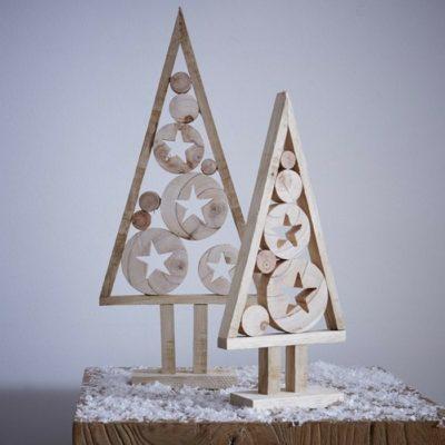 Make Wooden Christmas Tree