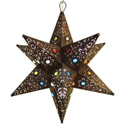 Mexican Hanging Star Lights