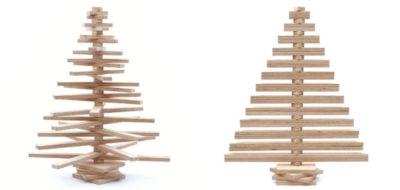 Modern Wooden Christmas Tree