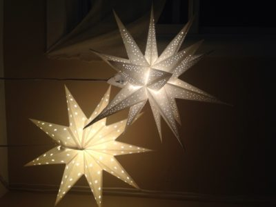 Outdoor Paper Star Lanterns