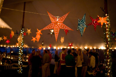 Paper Star Lanterns for Weddings