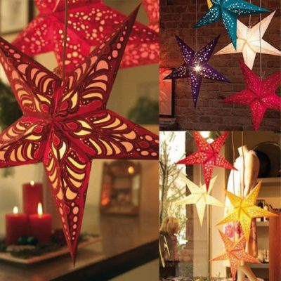 Paper Star Light Hanging Lantern