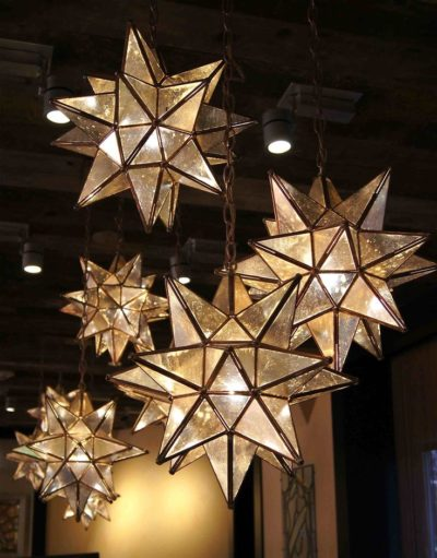 Paper Star Pendant Light