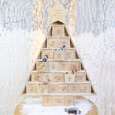 Personalised Wooden Christmas Tree