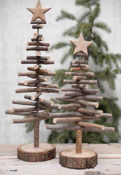 Round Wooden Christmas Tree