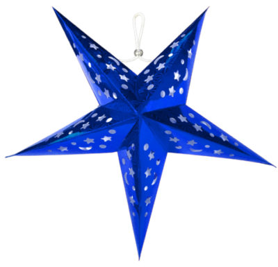 Star-Shaped Paper Lanterns