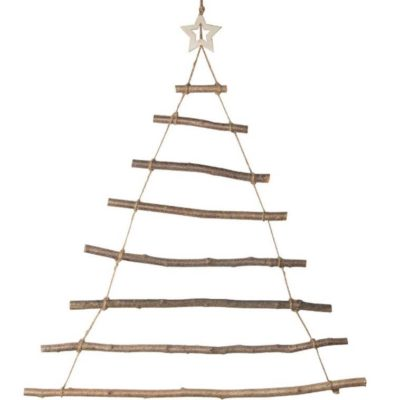Wooden Hanging Christmas Tree
