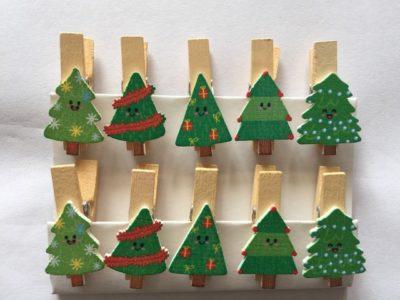 Wooden Peg Christmas Tree