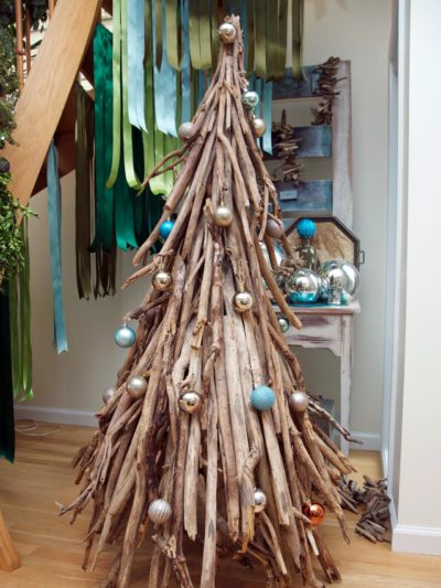 Wooden Rustic Christmas Tree