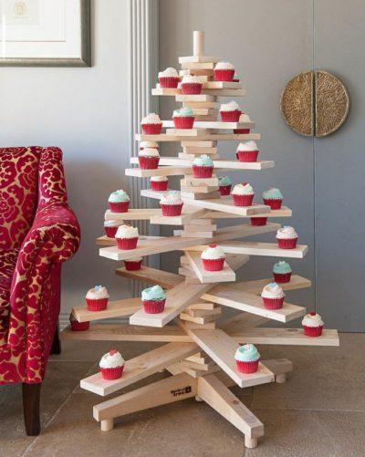 Wooden Scandinavian Christmas Tree
