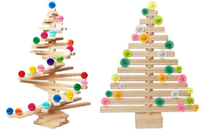 Wooden Spiral Christmas Tree