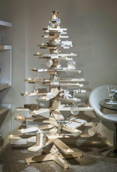 Wooden Stick Christmas Tree