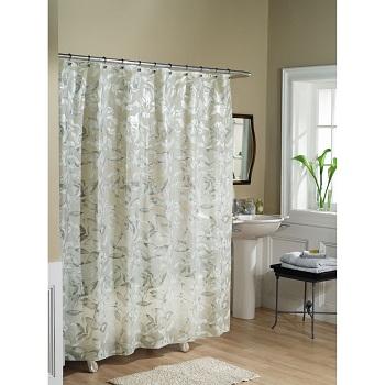Elegant Fabric Shower Curtains