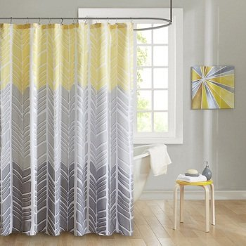 Luxury Fabric Shower Curtains ...