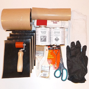 Materials needed for DIY roof repair