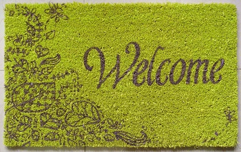 Spring Welcome Mats