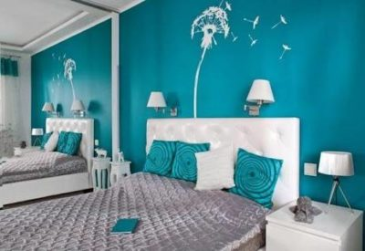 Turquoise Wall Decor Bedroom