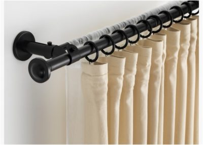 Magnetic Curtain Rod Brackets